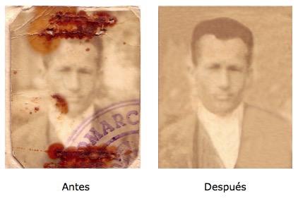Foto restaurada