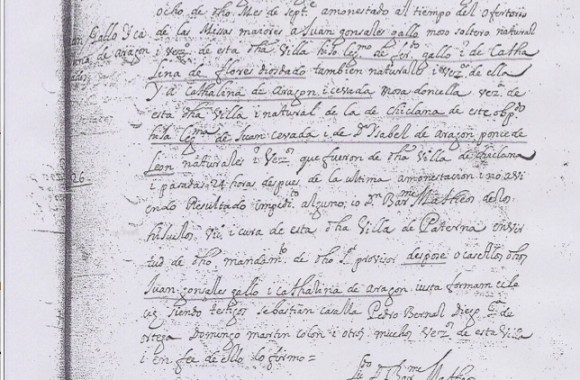 Documento 6.- 1689 Matrimonio