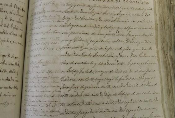 Documento 4.- 1877 Capitulos Matrimoniales